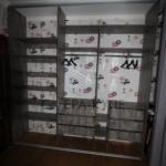 Наполнение встраеваемого шкафа купе в Москве. Мебель на заказ