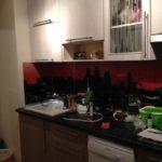 Кухня по индивидуальному размеру на заказ в Москве