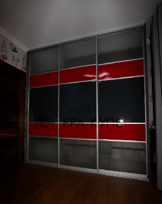 Трехстворчатый шкаф купе в Москве. Мебель на заказ