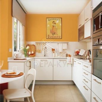 П образная кухня для небольших помещений