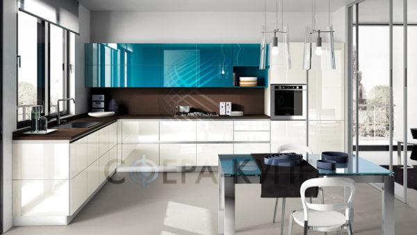 Сверхудобная угловая кухня