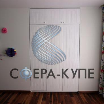 Распашной шкаф с фасадом МДФ эмаль