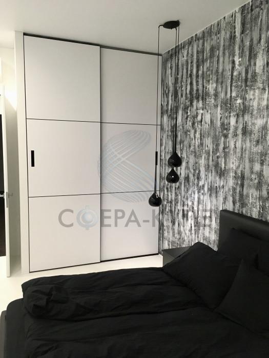 Встроенный шкаф купе в профиле NOVA