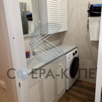 Мебель для ванной с фасадом МДФ