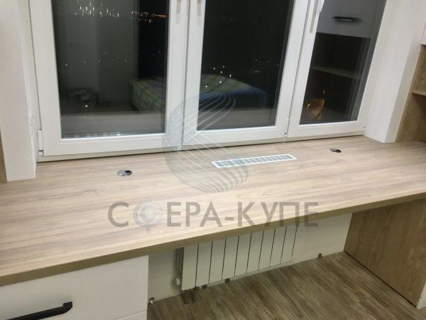 Письменный стол встроенный