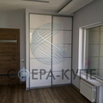 Шкаф купе встроенный с фасадом МДФ
